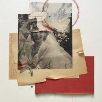 #collage #handmade #art #rhedfawell #embroidery